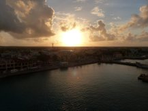 Bonaire-Kralendijk-Hafen-Sonnenaufgang-1