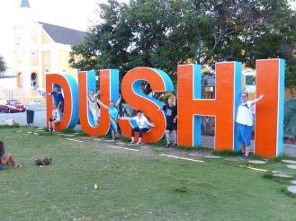 Curacao-Willemstad-Schriftzug-Dushi-wir-1