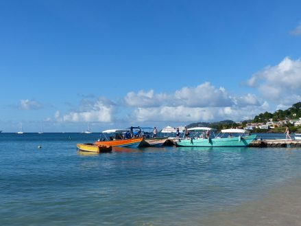 Grenada-Grande_Anse_Bay-Wassertaxi-1