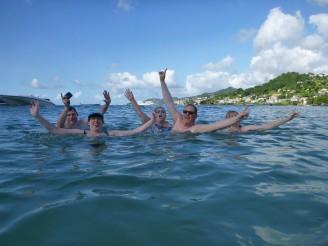 Grenada-Grande_Anse_Bay-wir-Schwimmen-2