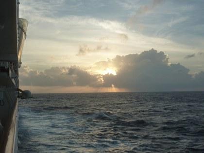Karibik-Seetag-Meer-Sonnenaufgang-1