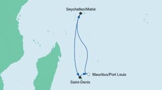 Tatsächliche Route