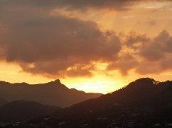 Mahé - Sonnenuntergang