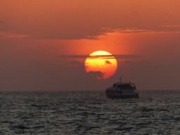Praslin - Sonnenuntergang