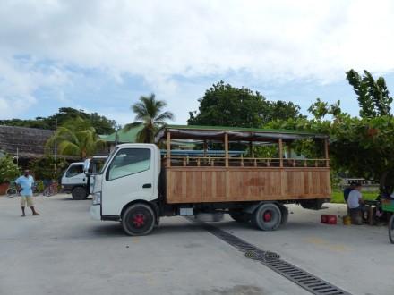 Mit dem Truck zum Strand