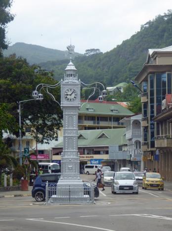 Seychellen-Mahe-Port_Victoria-Uhrenturm-1