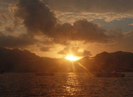 Seychellen-Mahe-Sonnenuntergang-1
