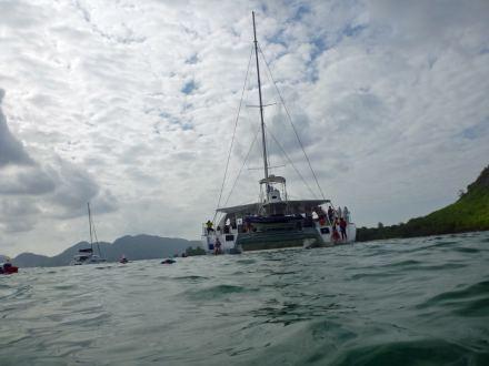 Seychellen-Ste_Anne_Marine_National_Park-Katamaran-6