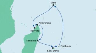 Ursprüngliche Route