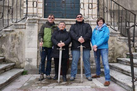 Dubrovnik-Altstadt-Game_of_Thrones_Tour-Schwertkampf-wir-2