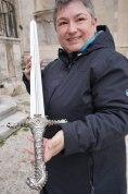 Dubrovnik-Altstadt-Game_of_Thrones_Tour-Schwertkampf-wir-7