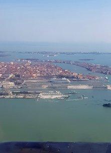 Venedig mit AIDA im Hafen