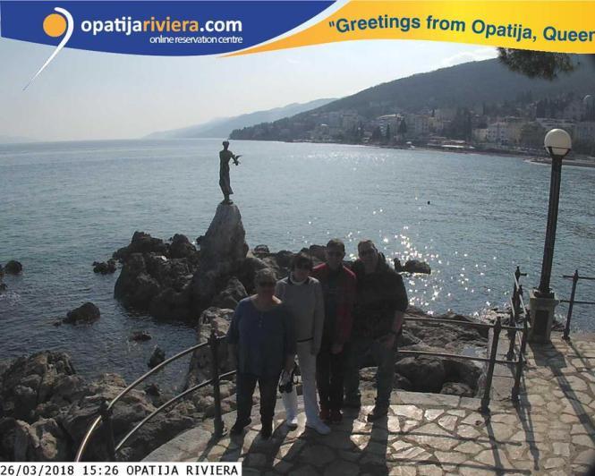 Kroatien-Opatija-Grusskarte-1