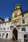 Kroatien-Rijeka-Altstadt-Stadtturm-3