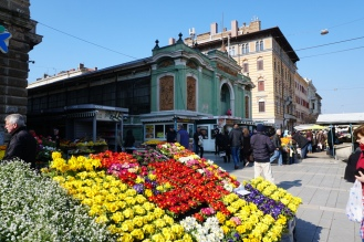 Kroatien-Rijeka-Markthallen-Blumenmarkt-1