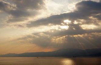 Kroatien-Rijeka-Sonnenuntergang-1