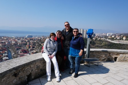Kroatien-Rijeka-Trsat-Ausblick-wir-1