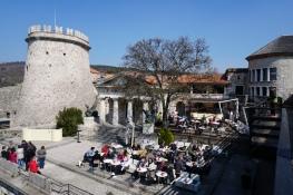 Kroatien-Rijeka-Trsat-Festung_Trsat-Cafe_Vintage-1