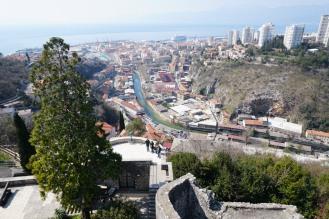 Kroatien-Rijeka-Trsat-Festung_Trsat-Turm-Ausblick-4