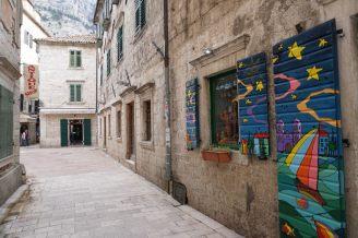 Montenegro-Kotor-Altstadt-Gassen-2