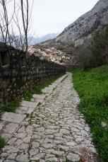 Montenegro-Kotor-Treppen-Wanderweg-2
