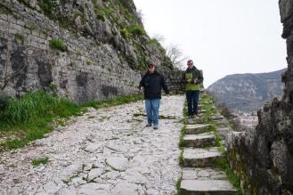 Montenegro-Kotor-Treppen-Wanderweg-7