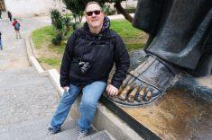 Split-Fuß_Statue_Bischof_von_Nin_Gregors-wir-1