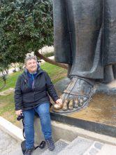Split-Fuß_Statue_Bischof_von_Nin_Gregors-wir-2