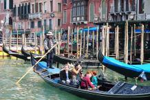 Venedig-Canal_Grande-Gondel-5