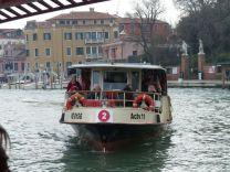 Vaporetto (Wassertaxi) Linie 2