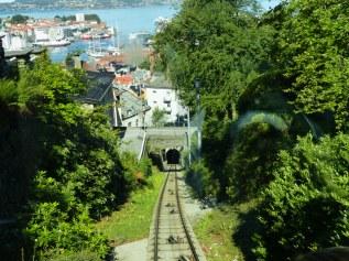 Bergen-Floibahn-Gleise-Aussicht-3