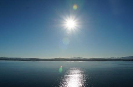 Bergen-Sonnenaufgang-Meer-1