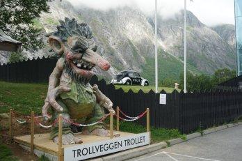 Norwegen-Trollwand-Troll-2