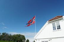 Trondheim-Festung_Kristiansten-Cafe-Flagge-6