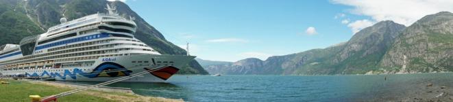 Norwegen-Eidfjord-AIDAsol-Panorama-5