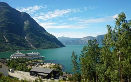 Norwegen-Eidfjord-Ausblick-AIDA-1
