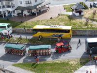 Norwegen-Eidfjord-Ausflugsbus-Bimmelbahn-1