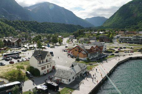 Norwegen-Eidfjord-Ortschaft-2