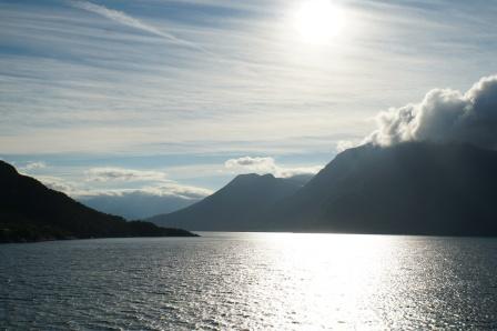 Norwegen-Eidfjord-Sonnenaufgang-1