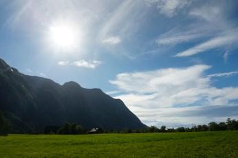 Norwegen-Eidfjord-Wanderweg_gelb-Wiesen-9