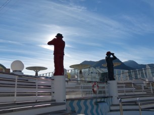 Norwegen-Fjord-AIDA-Pooldeck-Figuren-1