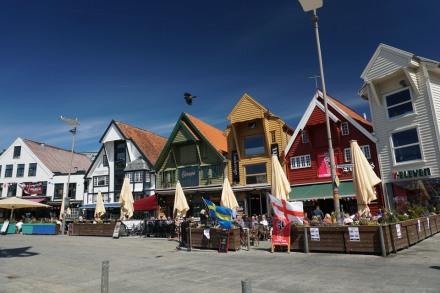Norwegen-Stavanger-Hafen-Cafe-2