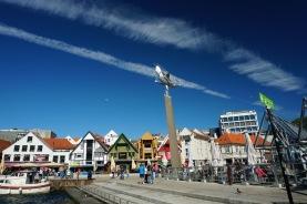 Norwegen-Stavanger-Hafen-Vagen-bunte_Haeuser-3