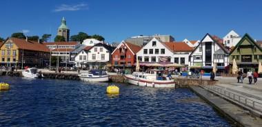 Norwegen-Stavanger-Hafenbecken-1