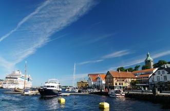 Norwegen-Stavanger-Hafenbecken-AIDA-3
