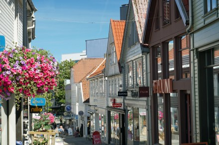 Norwegen-Stavanger-Ovre_Holmegate-Bunte_Haeuser-1