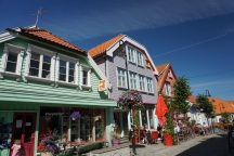 Norwegen-Stavanger-Ovre_Holmegate-Bunte_Haeuser-2