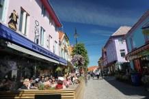 Norwegen-Stavanger-Ovre_Holmegate-Bunte_Haeuser-4