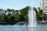 Norwegen-Stavanger-Stadtpark-Springbrunnen-4