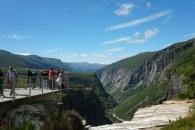 Norwegen-Voringfossen-Landschaft-Aussichtsplattform-2